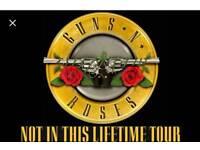 Guns n Roses Concert Tickets