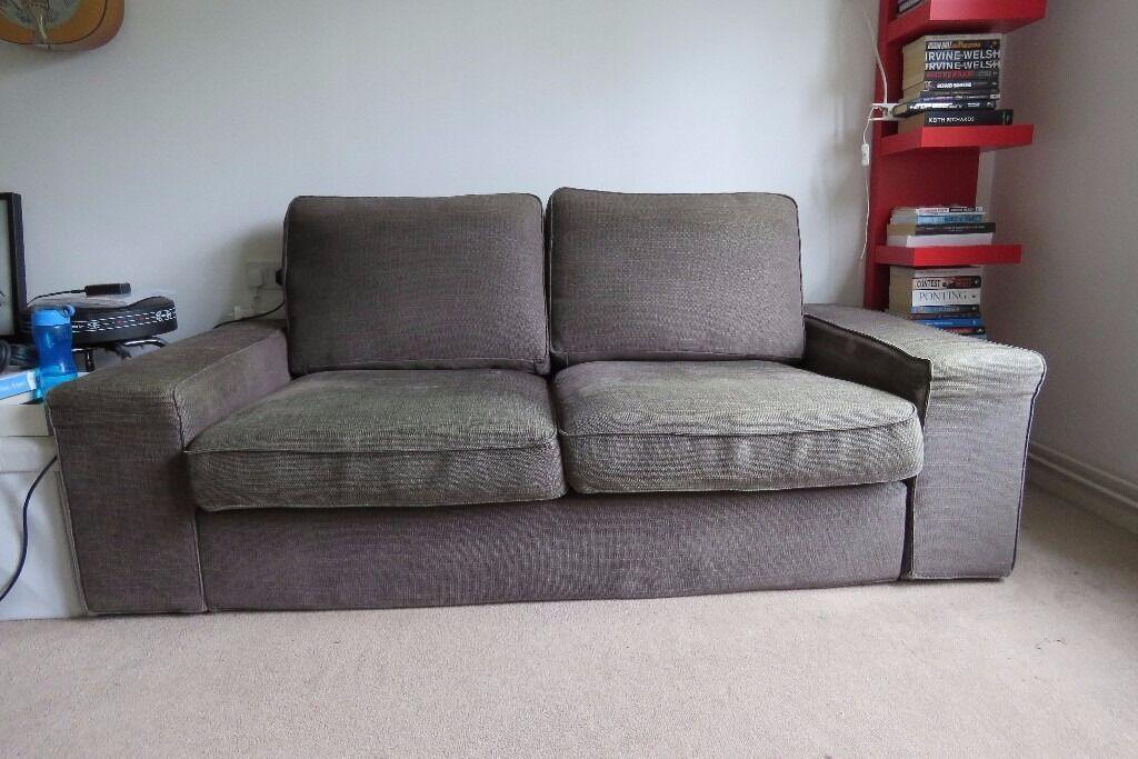 Ikea Kivik 2 Seater Sofa In Grey In Richmond London