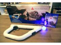 Playstation vr aim controller plus farpoint