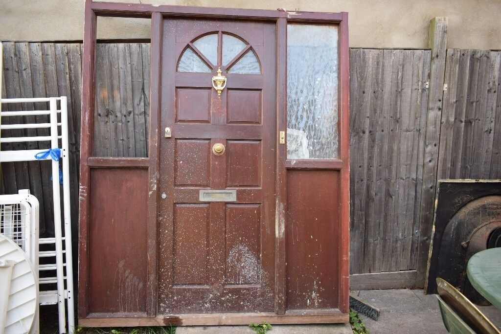 Heavy wood doorin Harrow, LondonGumtree - Heavy wood door 1 glass is missing and another one is ok call me on this number 447495466985