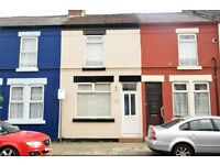 100 Holbeck St, Anfield, 2 bedroom terraced house, with DG & GCH. DSS applicants welcome.