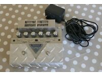 Mesa Boogie V-Twin Valve Overdrive Pedal, Original Packaging, Tags and Manual, V2 V Twin