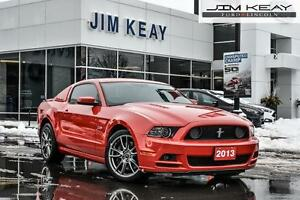 2013 Ford Mustang GT COUPE W/RECARO LEATHER SEATS, 5.0L V8 & 6 S