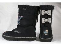 Girls Skechers Boots Size UK12
