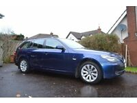 BMW 520D SE touring in excellent condition - leather seats - air suspension