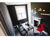 E2 - Shared office space with vibrant music promotion company - billls included - private landlord