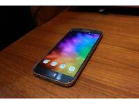 Samsung Galaxy S7 (Scraped screen & no box.)