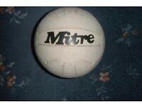 Vintage Mitre Multiplex Football