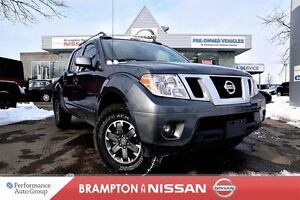 2016 Nissan Frontier PRO-4X *Leather, Heated seats, Rear view mo