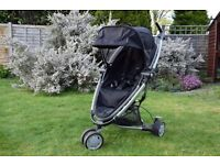 Cool Black Quinny Zapp Xtra buggy with loads of extras.