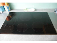 Bauknecht 77cm induction hob (crack in glass but fully working)