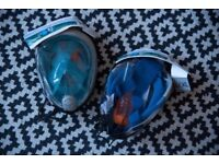 Pair of Decathlon Tribord Easybreath Snorkel Mask - New - Never used