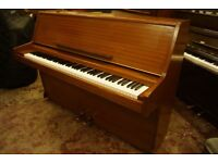Modern upright compact Challen piano - Tuned and UK wide delivery available