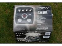 Zoom G2 effects pedal.