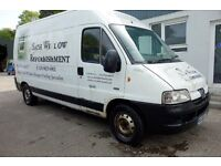 2006 Peugeot Boxer 2.2 HDI LWB 350 LX *** needs painted ***