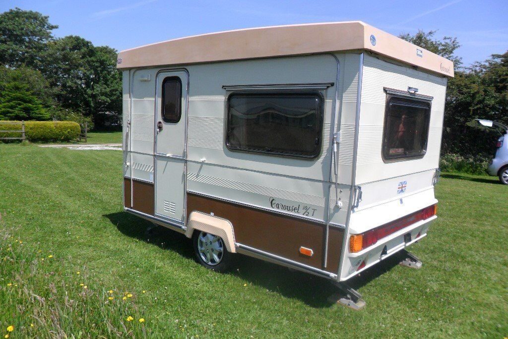 Gober Carousel Folding 2 Berth Caravan with Awning | in ...