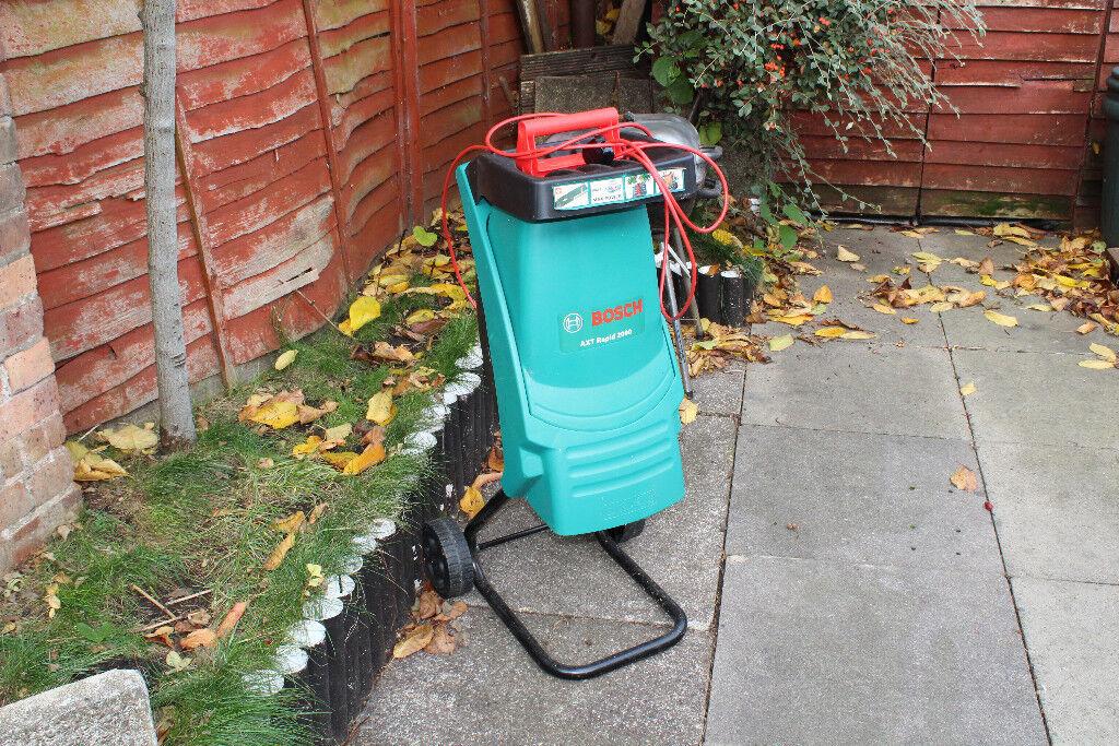 Garden Shredder Bosch AXT Rapid 2000 garden shredder