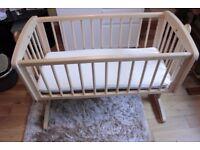 Baby bed+matress