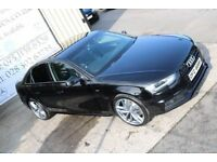 LATE 2013 AUDI A4 2.0TDI S LINE 141BHP !!BLACK EDITION SPEC!! SALOON ( FINANCE & WARRANTY)