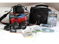 Canon 600D/RebelT3i in excellent condition