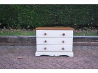 Pine chest of drawers painted with Farrow & Ball