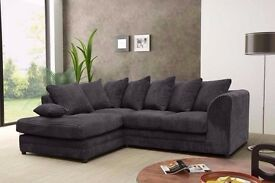 BRAND NEW JUMBO OFFER!! DYLAN 3 AND 2 SEATER OR CORNER JUMBO CORD SOFA SET AT CHEAP PRICE!