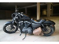 Harley Davidson Sportster 883 Iron with stage 1 tune