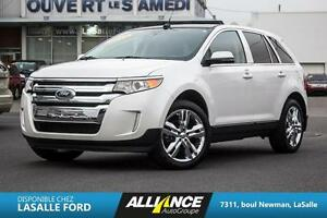 2013 Ford Edge LIMITED AWD-CAMERA-GPS-CUIR-BANC CHAUFFANT-TOIT P