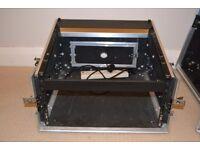 Flight Case - Large - suitable for mixing desk plus amplifier, effects, etc