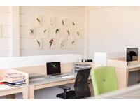 LOVELY CREATIVE OFFICE SPACE IN HACKNEY! desk space available near Shoreditch