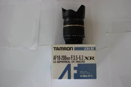 Tamron 18-200mm Macro Lens Shearwater Latrobe Area Preview