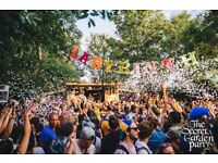 Secret Garden Party Weekend Ticket + Campervan Pass + Dog Pass - Early Bird Price!!!
