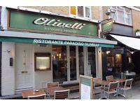 Waiting Staff Vacancies in Italian Restaurant, Mayfair