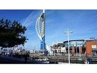 Large Studio Flat to Rent in Gunwharf Quays Portsmouth PO1, Fully Furnished, Available August 2017