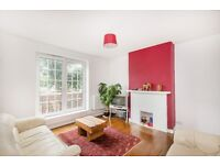 Large 2 double bedroom flat with balcony and views of Oval cricket ground and close to Underground