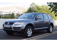 2003 Volkswagen Touareg 3.2 V6 Sport 5dr LOW MILEAGE + AUTOMATIC + 4X4 + WARRANTY + PX WELCOME