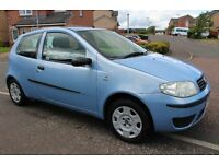FIAT PUNTO 1.2 (ONLY 77000 MILES) FULL 12 MONTHS MOT IMMACULATE NOT FIESTA CORSA CLIO KA MICRA POLO