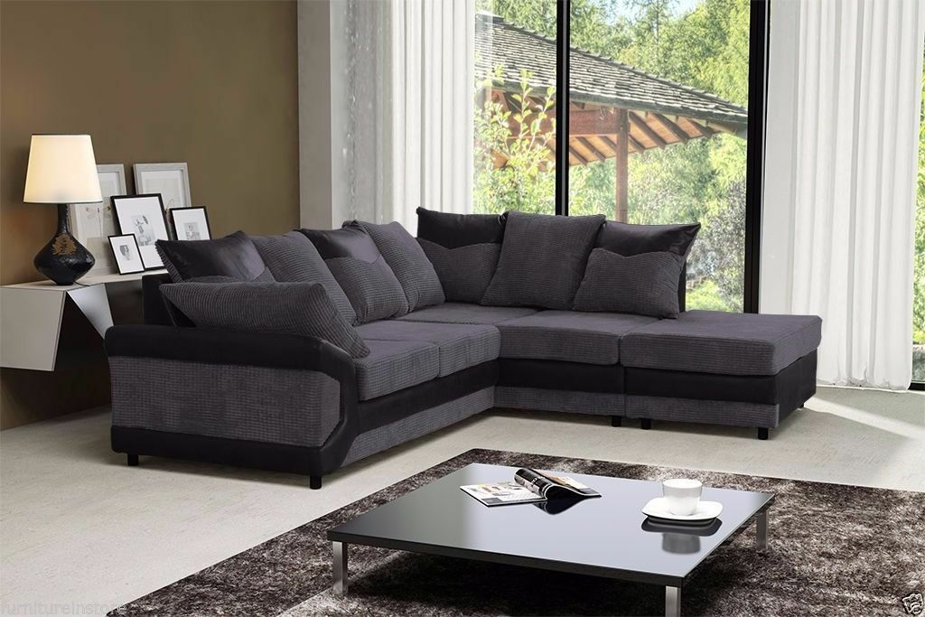 Jumbo Dianer CORD FABRIC CORNER SOFAS AND 3 AND 2 SEATTER SUITESin Kennington, LondonGumtree - CON.TACT INFOR IN THE FOLLOWING PIXTURES or 07903198072 BRAND NEW STYLISH DEENO SUITES AVAILABLE IN DOUBLE TONE COLOR BLACK GREY OR BROWN BEIGE RECOMMENDED RETAIL PRICE 599 OUR PIRCE 349 FOR 32 OR CORNER SUITE DIMENSIONS Corner to armrest 250cm...