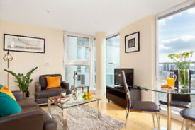 Astonishing One Bed Apt in Denison House near Canary Wharf Station with minimum stay of 30 Nights
