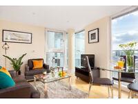 1 BR Apartment in Canary Wharf Min 30 Nights £1499 + £250 Bills
