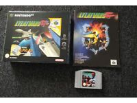 Lylat Wars (Star Fox 64) for Nintendo 64 N64, big box version