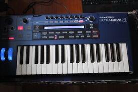Novation Ultranova Synthesizer Keyboard