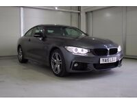 2015 BMW 420 2.0TD ( 190bhp ) 4X4 Auto d xDrive M Sport, 2 Years Warranty