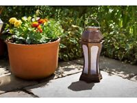 3D Hourglass Solar Lantern - BUY 2 FOR THE PRICE OF 1