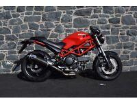 Ducati Monster 695 2007 - Termignoni Exhaust