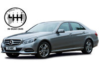 HIRE AN EXECUTIVE MERCEDES BENZ E CLASS PCO LICENSED UBER READY W/INSURANCE