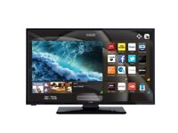 "Brand new boxed HD Smart Free view TV 24"" only 5 left at this price save over £69.00 today"