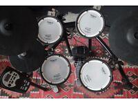 Roland TD 11 KV Electronic Drum Kit with Kick Pedal & Stool