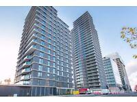 BRAND NEW TWO bedroom TWO bathroom 10th floor flat, GYM, BALCONY, 24hr PORTER, STRATFORD WESTFIELD