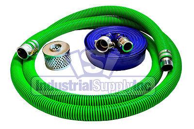 3 Epdm Trash Pump Water Suction Fcam X Mp W100 Blue Discharge Hose Kit